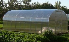 Išmanusis šiltnamis arkinis Klasika 6m²  4mm