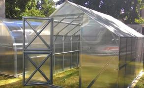Išmanusis šiltnamis Gaspadinė 26m²  4mm