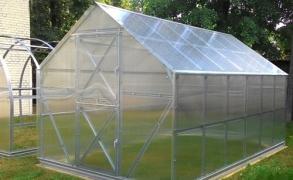 Šiltnamis Gaspadinė 6m²  4mm