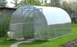 Šiltnamis Arkinis Gaspadorius 6m²  4mm