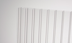 Kanalinis polikarbonatas 4mm skaidrus 1050x2000