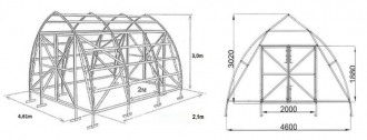 Fermer 4.6  papildoma sekcija 4,2mx2,1m 9,96m2 6mm